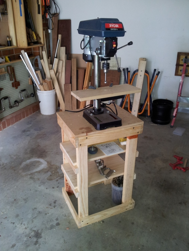 Download Drill Press Stand Plans Diy Building A Linen